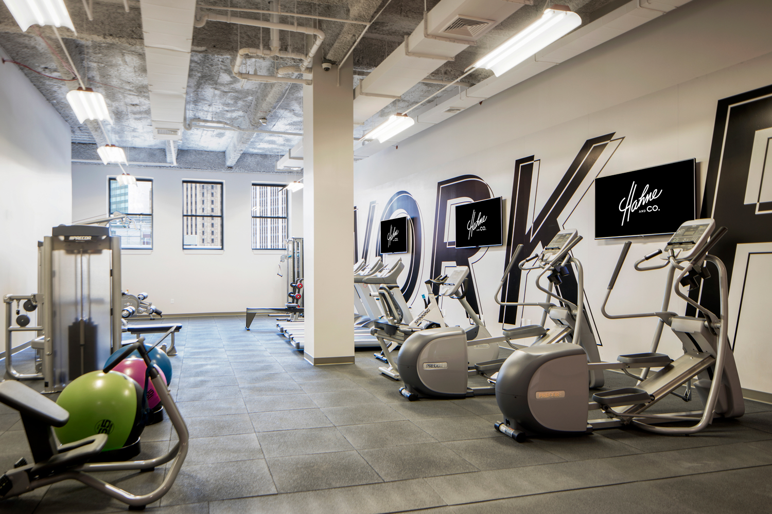 Fitness Center at Hahne & Co